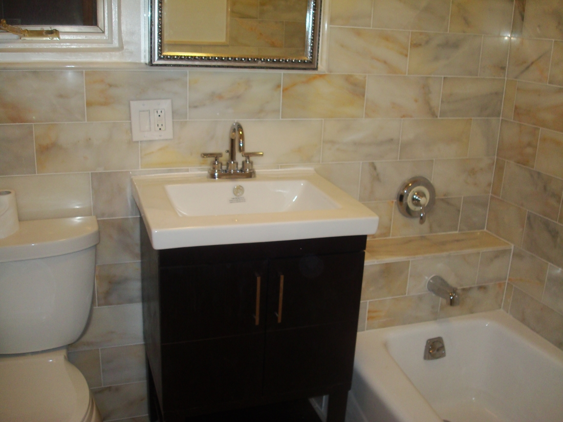 105 East 38th Street Bathroom Tiling Renovation