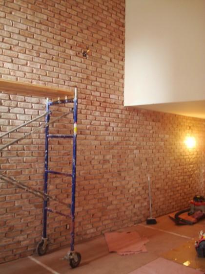 Veener Brick Installation 305 second ave