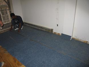 New York wood floor installation