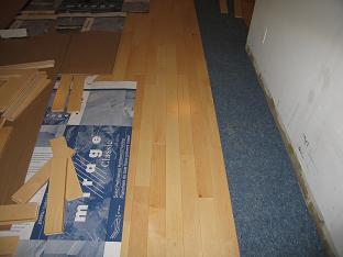 Mirage hardwood floor installation New York,NY