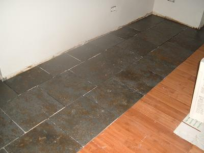Flooring Combination tile&wood