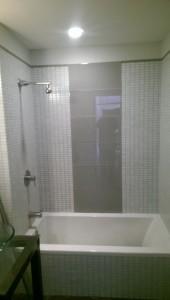 3x6 Subway tiles bathroom