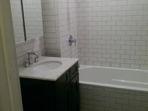 609 Myrtle Ave Bathroom remodeling